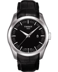 Tissot - T035.410.16.051.00 Couturier Stainless Steel Watch - Lyst