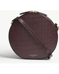 Kurt Geiger - Richmond Croc-embossed Leather Cross-body Bag - Lyst