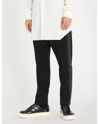 Rick Owens - Astaires Slim-fit Wool Trousers - Lyst