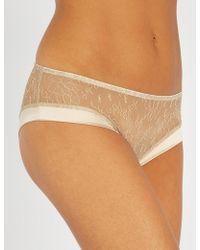 Myla - Darling Row Stretch-lace Short Briefs - Lyst