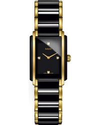 Rado - R20845712 Integral Ceramic And Yellow Gold Watch - Lyst