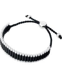 Links of London | Friendship Bracelet Black | Lyst