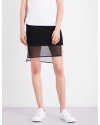 5cm - Asymmetric Cotton-blend Skirt - Lyst