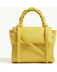 Elena Ghisellini - Angel Extra Small Leather Shoulder Bag - Lyst