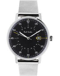Paul Smith - P10131 Gauge Stainless Steel Watch - Lyst