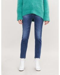 AG Jeans - Isabelle Straight High-rise Jeans - Lyst