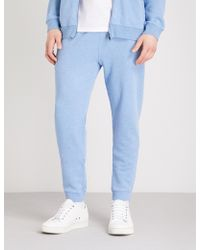 Derek Rose - Devon Cotton Jogging Bottoms - Lyst