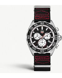 Tag Heuer - Caz101e.fc8228 Formula 1 Stainless Steel And Textile Watch - Lyst