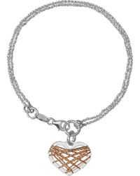 Links of London - Dream Catcher Heart Bracelet - Lyst