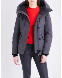 Canada Goose - Rideau Padded Parka Jacket - Lyst