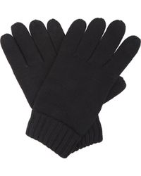 Polo Ralph Lauren - Embroidered Logo Wool Gloves - Lyst