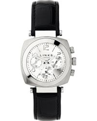 Links of London - Brompton Leather Bracelet Chronograph Watch - Lyst