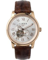 Links of London - Noble Rose Gold-plated Watch - Lyst