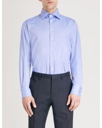 Thomas Pink - Clyde Slim-fit Cotton Oxford Shirt - Lyst