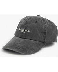72668f216bf The Kooples - Logo Washed Cotton Baseball Cap - Lyst