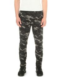 Björn Borg - Camouflage-print Jersey Jogging Bottoms - Lyst