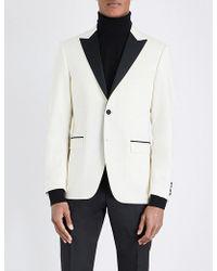 Tiger Of Sweden - Wool Tuxedo Jacket - Lyst