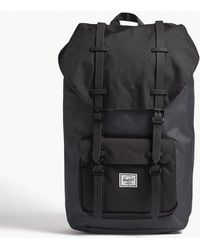 Herschel Supply Co. - . Dark Shadow Grey And Black Little America Backpack - Lyst