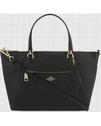 COACH - Mercer 24 Leather Cross-body Bag - Lyst