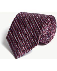 Lanvin - 3d Ribbon Silk Tie - Lyst