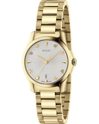 7756f705a7d Gucci - Ya126576 G-timeless Collection Stainless Steel And Yellow-gold Pvd  Watch -
