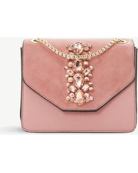 Dune - Everlina Diamante-embellished Shoulder Bag - Lyst