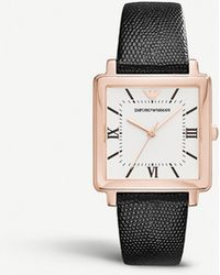 Emporio Armani - Ar11067 Stainless Steel Rose Gold-plated Quartz Watch - Lyst