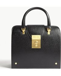 Thom Browne - Mrs Thom Jr Leather Tote - Lyst