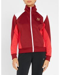 PUMA - Retro Zip-up Jersey Jacket - Lyst