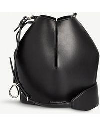 Alexander McQueen - Ladies Black Bucket Bag Leather - Lyst