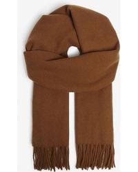 Sandro - Fringe Wool Scarf - Lyst
