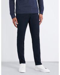 BOSS Black - Slim-fit Stretch-cotton Chinos - Lyst