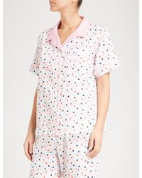 PETER ALEXANDER | Confetti Cotton Pyjama Top | Lyst