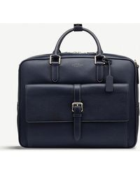Smythson - Burlington Large Leather Briefcase - Lyst