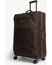Bric's - Olive Green Life Four Wheel Suitcase - Lyst