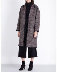 Vanessa Bruno - Felivien Laine Tweed Coat - Lyst