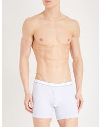 Derek Rose - Ethan Regular-fit Stretch-cotton Trunks - Lyst