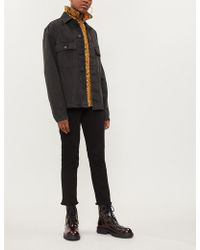 Zadig & Voltaire - Ava Raw-hem Skinny High-rise Jeans - Lyst
