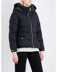 Burberry - Fleetwood Quilted Down And Feather-blend Puffer Jacket - Lyst