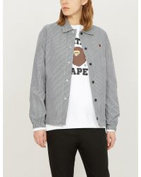 A Bathing Ape - Swarovski Crystal-embellished Cotton-jersey Sweatshirt - Lyst