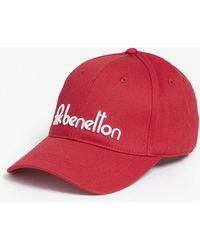 Benetton - Unisex Logo-embroidered Cotton Cap - Lyst