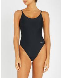 Calvin Klein - Core Neo Cheeky Swimsuit - Lyst