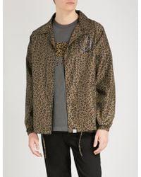 BBCICECREAM - Leopard-print Shell Jacket - Lyst