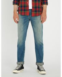 Polo Ralph Lauren - Slim-fit Straight Faded-wash Jeans - Lyst