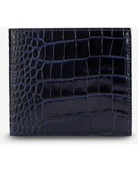 Smythson - Mara Leather Wallet With Coin Pocket - Lyst
