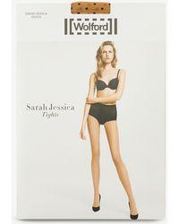 Wolford - Sarah Jessica Polka Dot Tights - Lyst