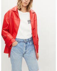 Ksubi - 'bring Back Life' Print Cotton-jersey T-shirt - Lyst