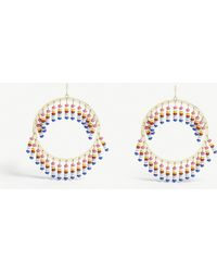 BaubleBar - Mazarine Hoop Earrings - Lyst