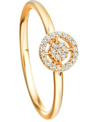 Astley Clarke - Mini Icon Aura 14ct Yellow-gold And Diamond Ring - Lyst