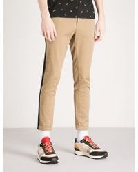 The Kooples - Slim-fit Stretch-cotton Chinos - Lyst